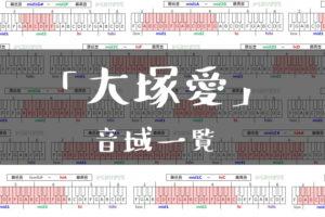 大塚愛音域一覧トップ