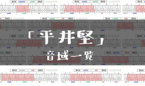 平井堅歌手音域一覧トップ