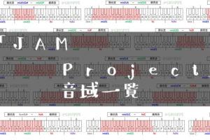 JAM Project歌手音域一覧トップ