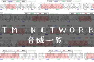TM NETWORK歌手音域一覧トップ