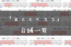 access音域一覧トップ