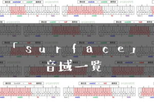 surface音域一覧トップ